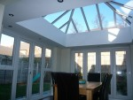 Completed Orangery -  bringing light in to the kitchen and dining area