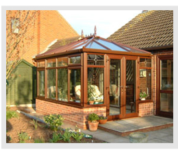 Example of an Edwardian conservatory