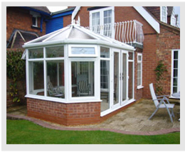 Example of a Victorian conservatory