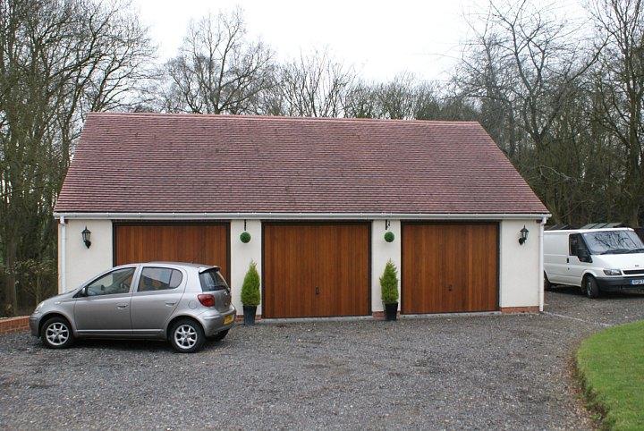 Gallery of building design for Block garage plans