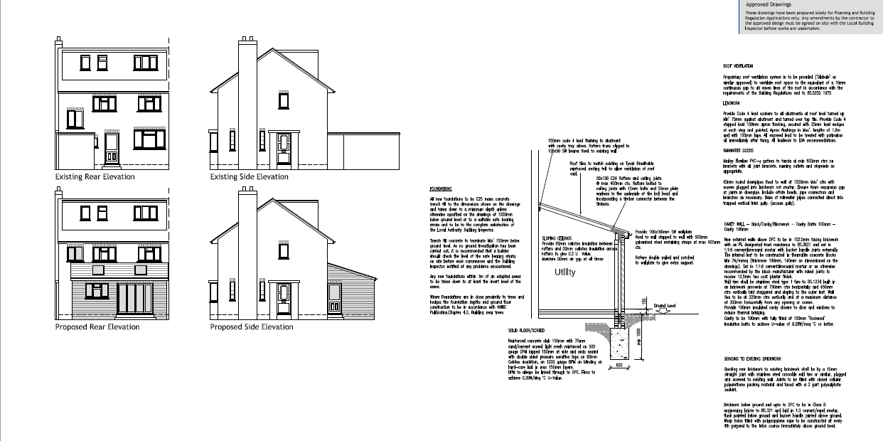 Example Architectural Plans Easyplan Birmingham South – House Extension Plans Examples