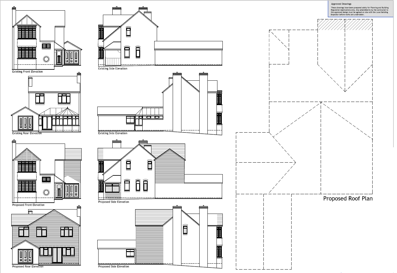 Example Architectural Plans - Easyplan Birmingham South