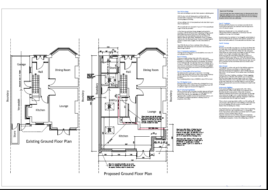 Example architectural plans easyplan birmingham south Bad floor plans examples